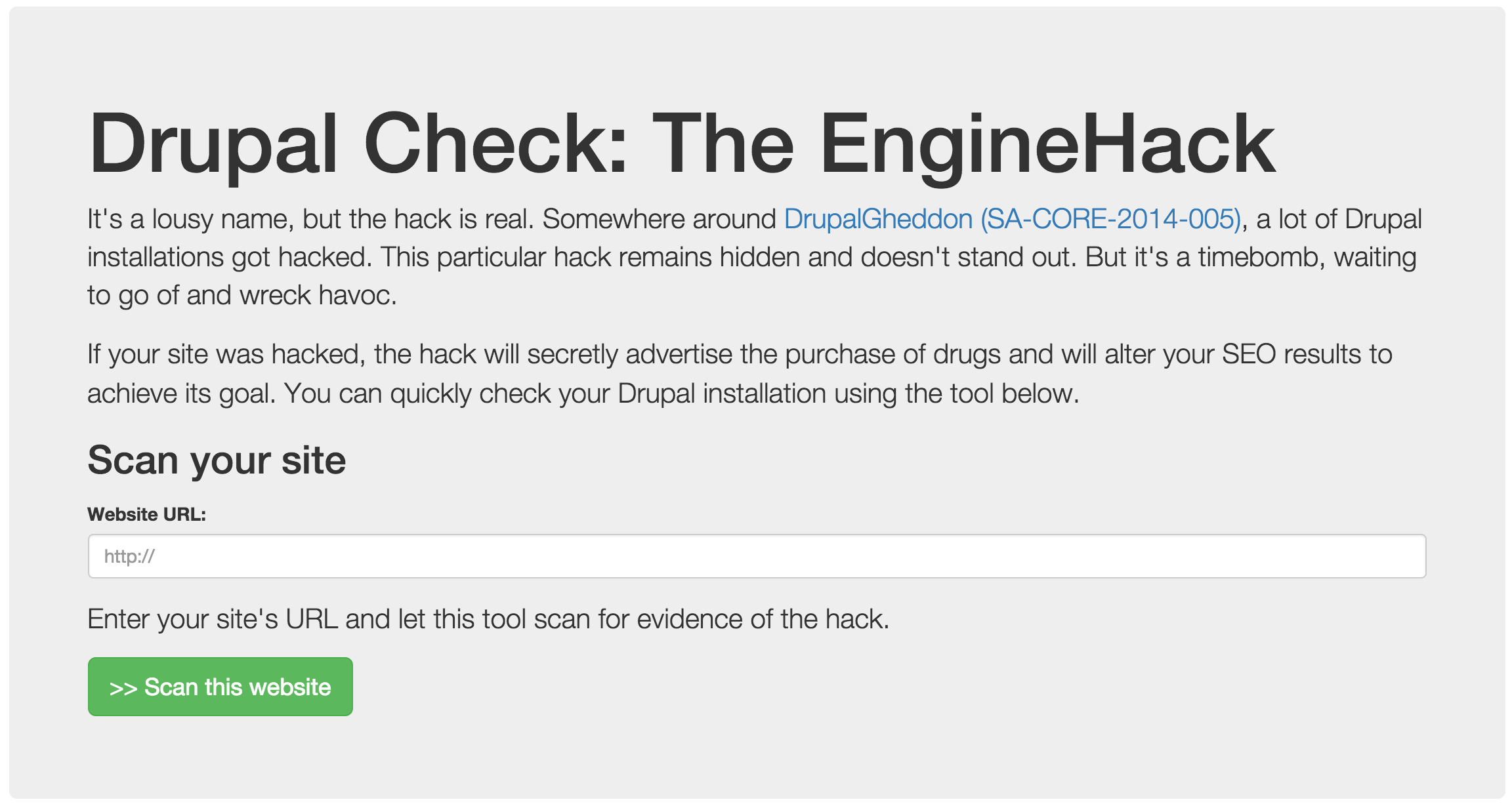 drupal_enginehack