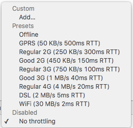 chrome_devtools_network_throttling_presets