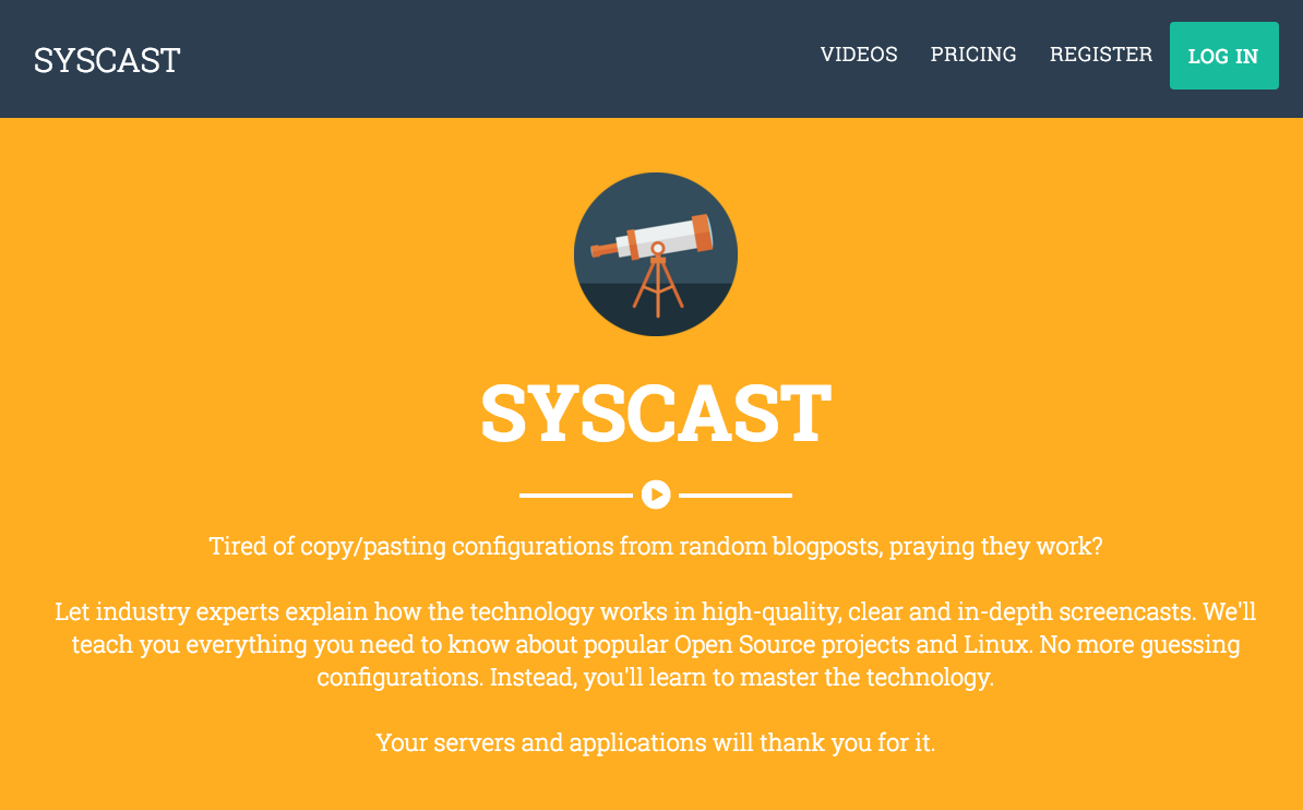 syscast_1_homepage